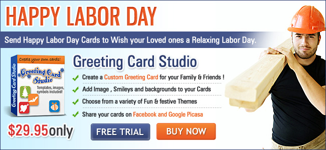 Greeting card software send happy labor day greeting cards wishes m4hsunfo