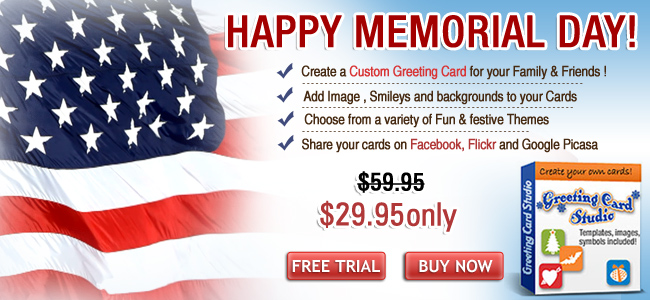 Free happy memorial day cards wishes e cards greeting card software m4hsunfo